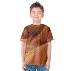 Sandstone The Wave Rock Nature Red Sand Kids  Cotton Tee