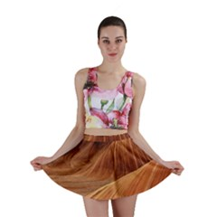 Sandstone The Wave Rock Nature Red Sand Mini Skirt
