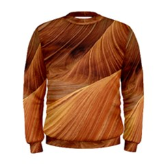 Sandstone The Wave Rock Nature Red Sand Men s Sweatshirt