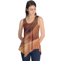 Sandstone The Wave Rock Nature Red Sand Sleeveless Tunic