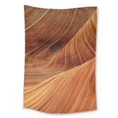 Sandstone The Wave Rock Nature Red Sand Large Tapestry