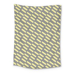 Yellow Washi Tape Tileable Medium Tapestry