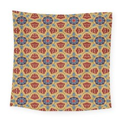 Arabesque Flower Square Tapestry (large)