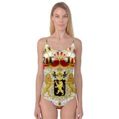 Great Coat Of Arms Of Belgium Camisole Leotard
