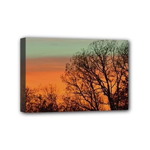 Twilight Sunset Sky Evening Clouds Mini Canvas 6  X 4
