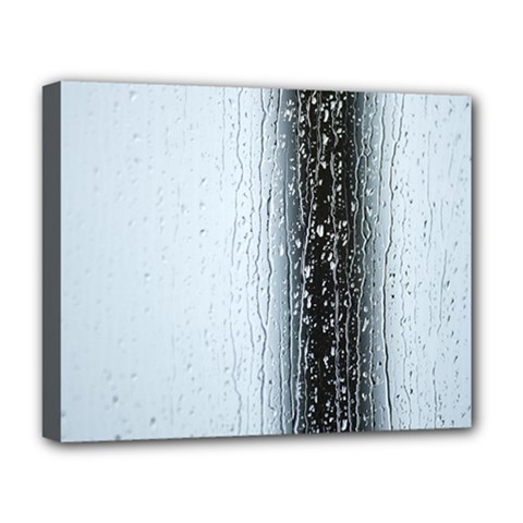 Rain Raindrop Drop Of Water Drip Deluxe Canvas 20  X 16