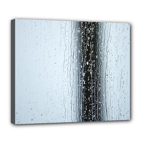 Rain Raindrop Drop Of Water Drip Deluxe Canvas 24  X 20