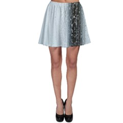 Rain Raindrop Drop Of Water Drip Skater Skirt