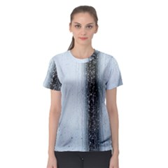 Rain Raindrop Drop Of Water Drip Women s Sport Mesh Tee