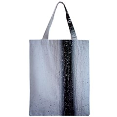 Rain Raindrop Drop Of Water Drip Zipper Classic Tote Bag