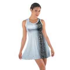 Rain Raindrop Drop Of Water Drip Cotton Racerback Dress