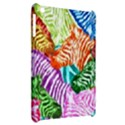 Zebra Colorful Abstract Collage Apple iPad Mini Hardshell Case View2