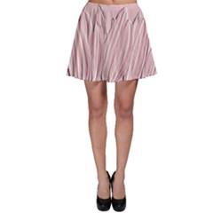 Shabby Chic Vintage Background Skater Skirt