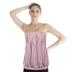 Shabby Chic Vintage Background Strapless Top