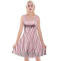 Shabby Chic Vintage Background Reversible Velvet Sleeveless Dress