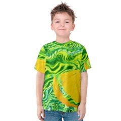 Zitro Abstract Sour Texture Food Kids  Cotton Tee