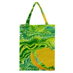 Zitro Abstract Sour Texture Food Classic Tote Bag