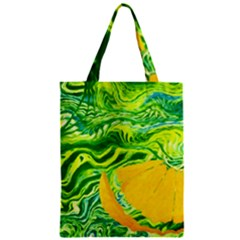 Zitro Abstract Sour Texture Food Zipper Classic Tote Bag