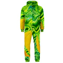 Zitro Abstract Sour Texture Food Hooded Jumpsuit (men)