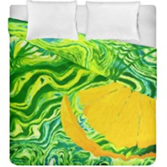 Zitro Abstract Sour Texture Food Duvet Cover Double Side (king Size)