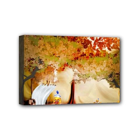 Art Kuecken Badespass Arrangemen Mini Canvas 6  X 4