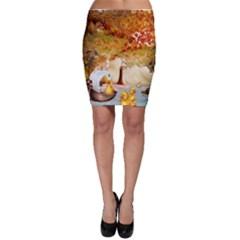Art Kuecken Badespass Arrangemen Bodycon Skirt
