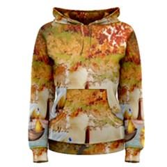 Art Kuecken Badespass Arrangemen Women s Pullover Hoodie