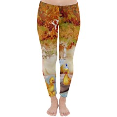 Art Kuecken Badespass Arrangemen Classic Winter Leggings