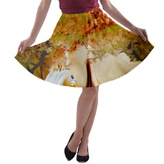 Art Kuecken Badespass Arrangemen A Line Skater Skirt
