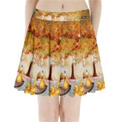 Art Kuecken Badespass Arrangemen Pleated Mini Skirt