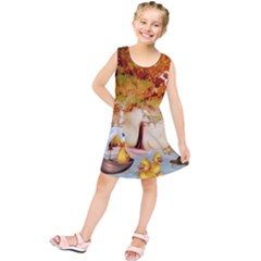 Art Kuecken Badespass Arrangemen Kids  Tunic Dress