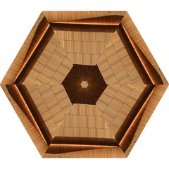 Architecture Art Boxes Brown Mini Folding Umbrellas