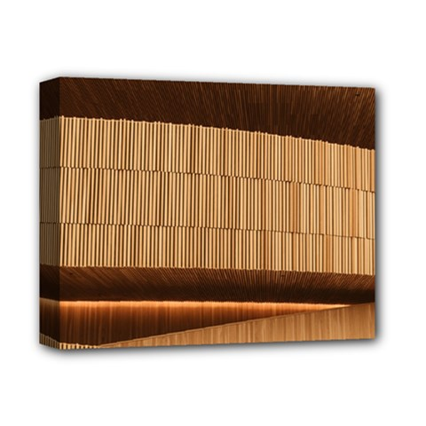 Architecture Art Boxes Brown Deluxe Canvas 14  X 11