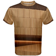 Architecture Art Boxes Brown Men s Cotton Tee