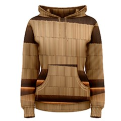 Architecture Art Boxes Brown Women s Pullover Hoodie