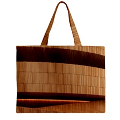 Architecture Art Boxes Brown Zipper Mini Tote Bag