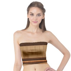 Architecture Art Boxes Brown Tube Top