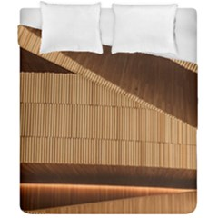 Architecture Art Boxes Brown Duvet Cover Double Side (california King Size)