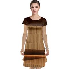 Architecture Art Boxes Brown Cap Sleeve Nightdress