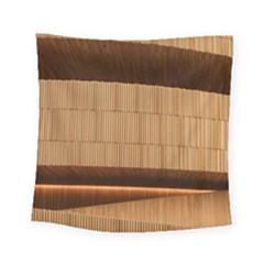 Architecture Art Boxes Brown Square Tapestry (small)