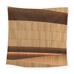 Architecture Art Boxes Brown Square Tapestry (large)