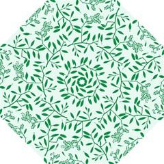 Leaves Foliage Green Wallpaper Hook Handle Umbrellas (medium)
