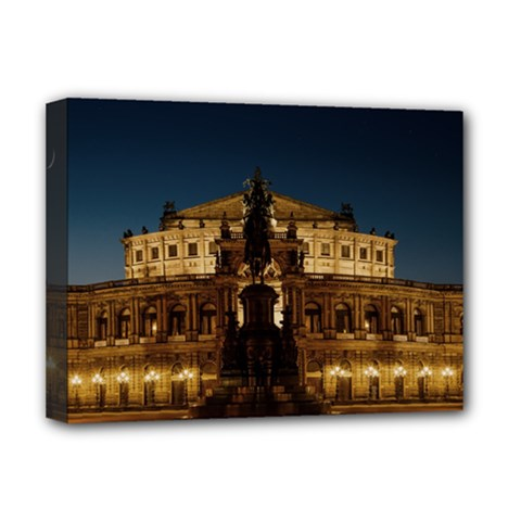 Dresden Semper Opera House Deluxe Canvas 16  X 12