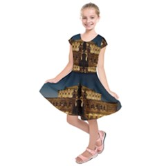 Dresden Semper Opera House Kids  Short Sleeve Dress
