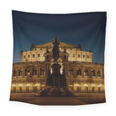 Dresden Semper Opera House Square Tapestry (large)