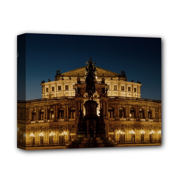 Dresden Semper Opera House Deluxe Canvas 14  x 11