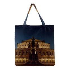 Dresden Semper Opera House Grocery Tote Bag