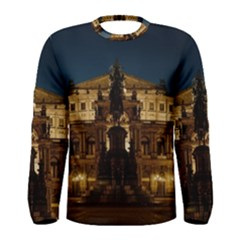 Dresden Semper Opera House Men s Long Sleeve Tee