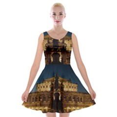 Dresden Semper Opera House Velvet Skater Dress