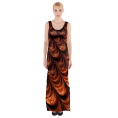 Fractal Mathematics Frax Maxi Thigh Split Dress